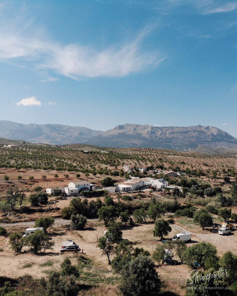 REC.ON project Spain z lotu ptaka - ujęcie z drona Slowspotter
