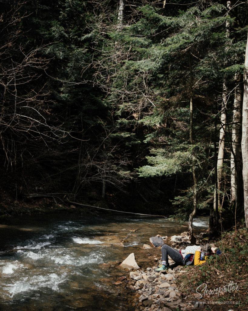 Dolina Rabskiego Potoku Slowspotter Bieszczady Uziemienie