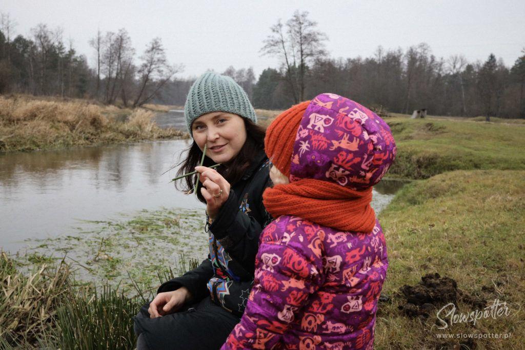Gniazdowo nad rzeką Liwiec - spacer nad rzeką
