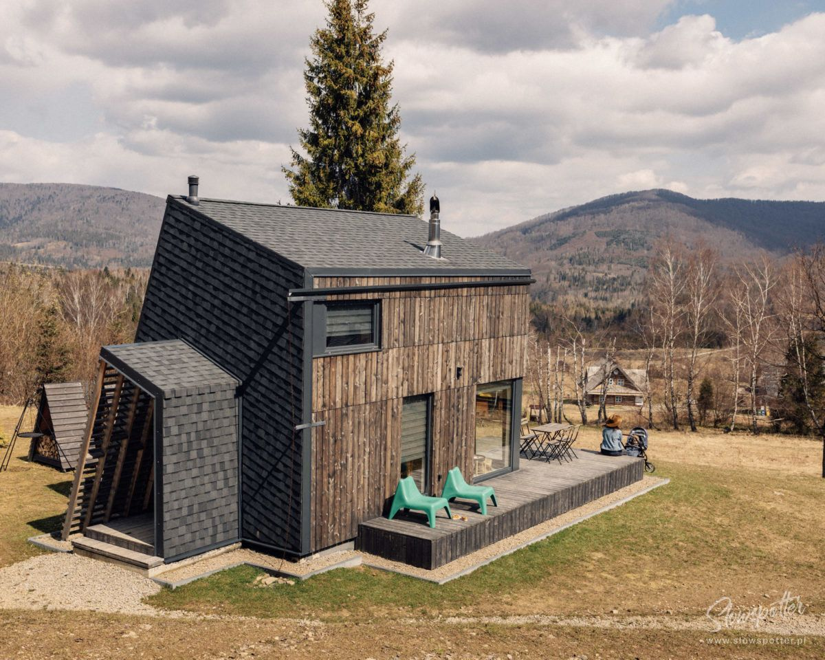 4 nad Ranem Bieszczady domki hytte Slowspotter