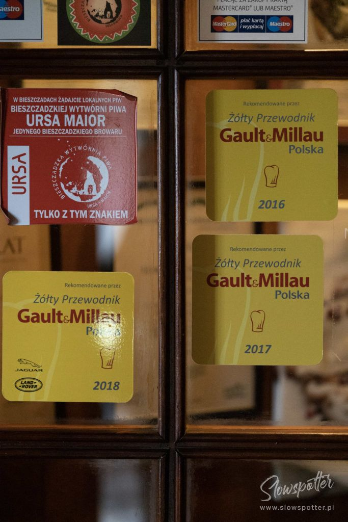 Chata Wędrowca-Gault & Millau-restauracja