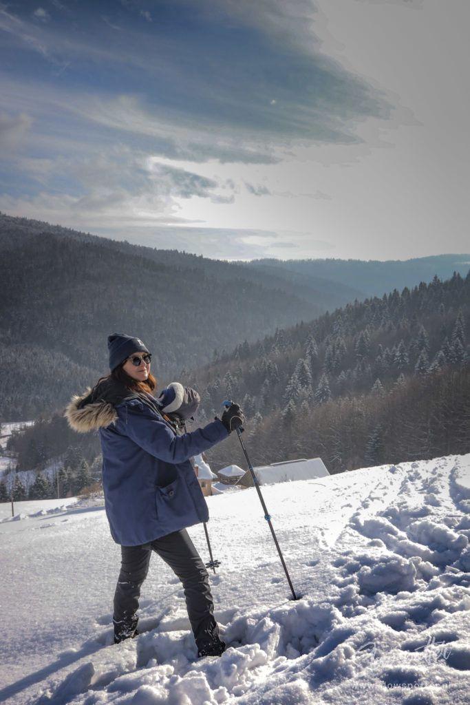 Chatta Huba Zima Nad Czorsztynem Slowspotter Gorczański Park Narodowy
