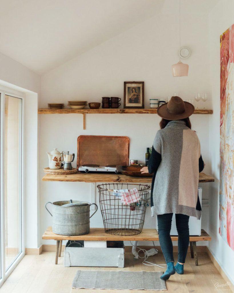 Dom na Wzgórzu Paproć Beskid Wyspowy wizyta Slowspotter wnętrza minimalizm