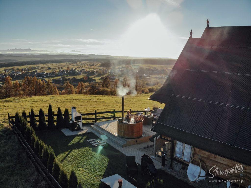 Górski Azyl Slowspotter dom z widokiem na Tatry