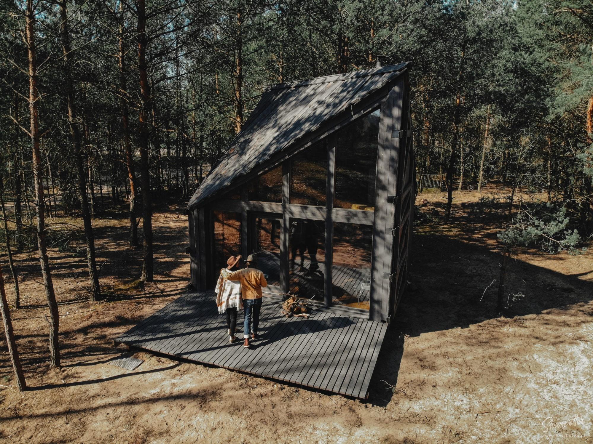 Klimatyczny domek w lesie pod Warszawą