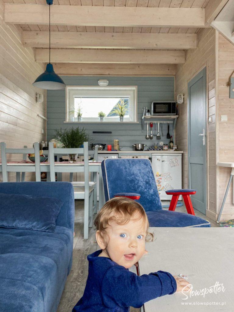 Fajne Miejsce Wizyta Slowspotter Niebieskie Domki Nad Morzem Renowacja mebli