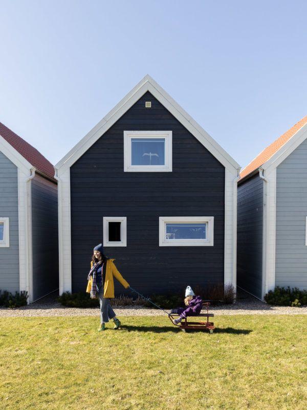 Fajne Miejsce Wizyta Slowspotter Niebieskie Domki Nad Morzem Rodzinka
