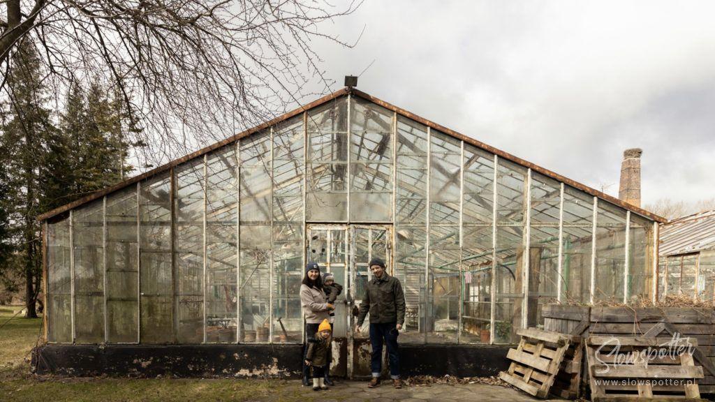 Folwark Jackowo szklarnia Slowspotter ekologiczny ogrodek