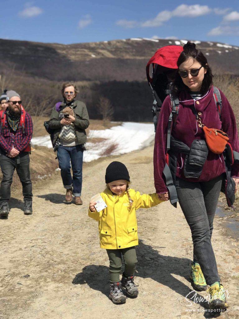 Lokalne Wycieczki Bieszczady Slowspotter szlak Mała Rawka