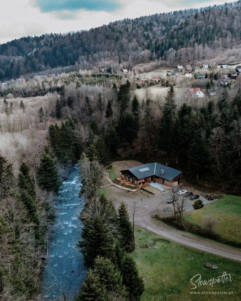 Novosiele Lifestyle Apartments Slowspotter Slow Cabin Bieszczady Dron