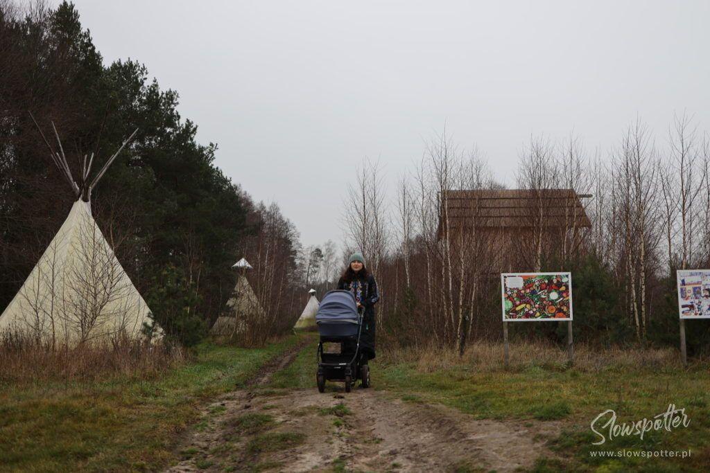 Siedlisko Leluja Slowspotter Gospodarze Chata Kurpiowska Wioska Tipi
