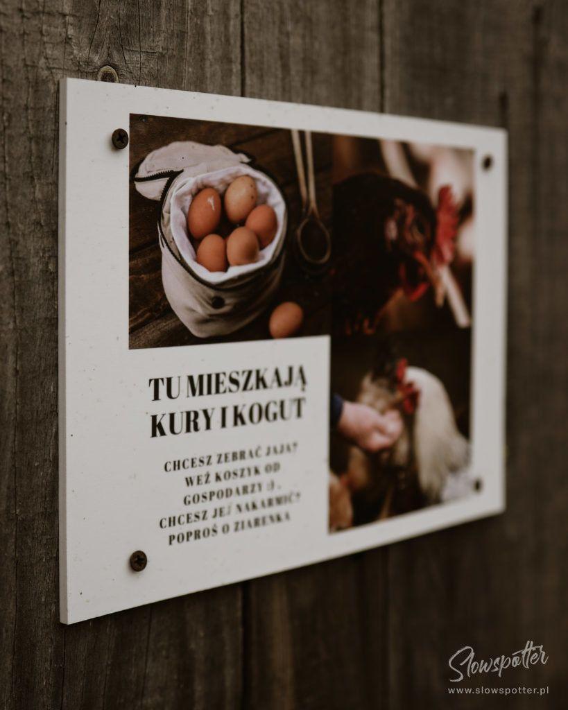 Siedlisko Leluja pod Warszawa na wsi Slowspotter kurnik