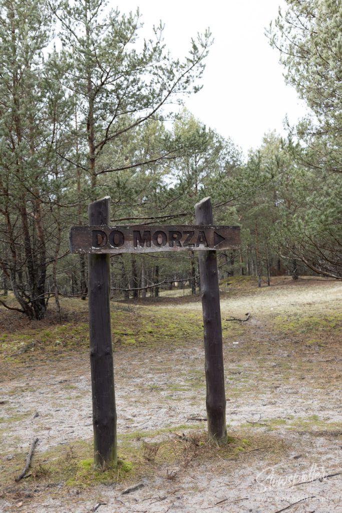 Slowspotter spaceruje przez Słowiński Park Narodowy
