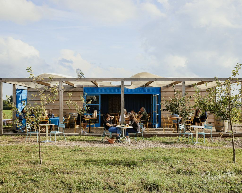 Slowspotter Restauracja Niwa Kontenery