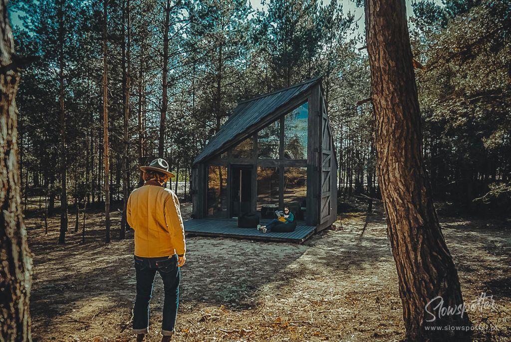 Domek W Lesie Bookworm Cabin Pod Warszawa Slowspotter