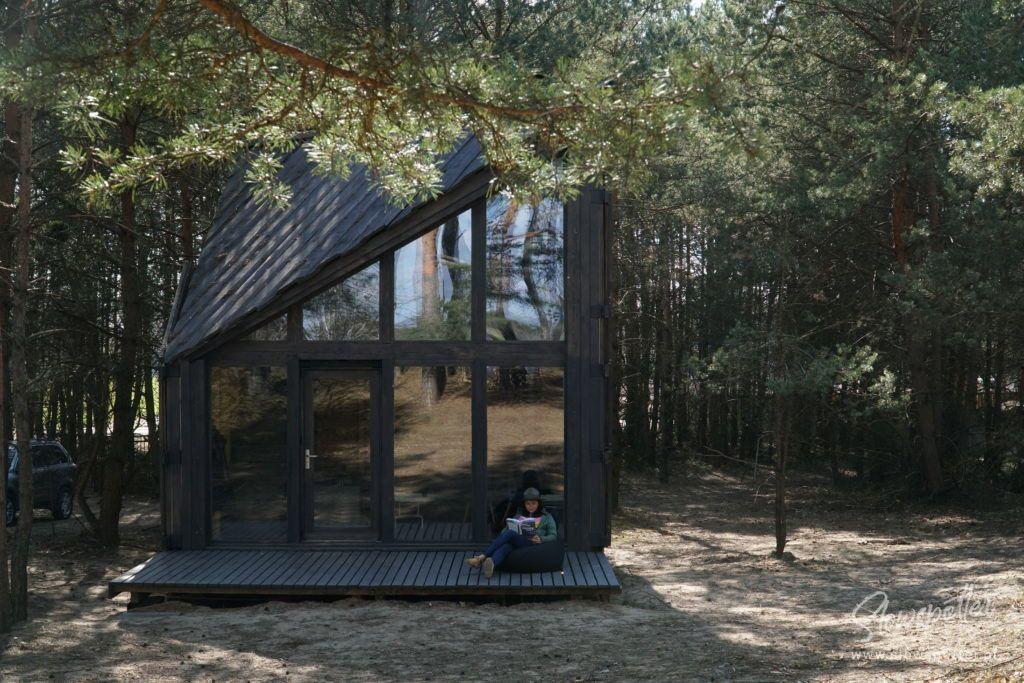 Slowspotter z wizytą w Bookworm cabin
