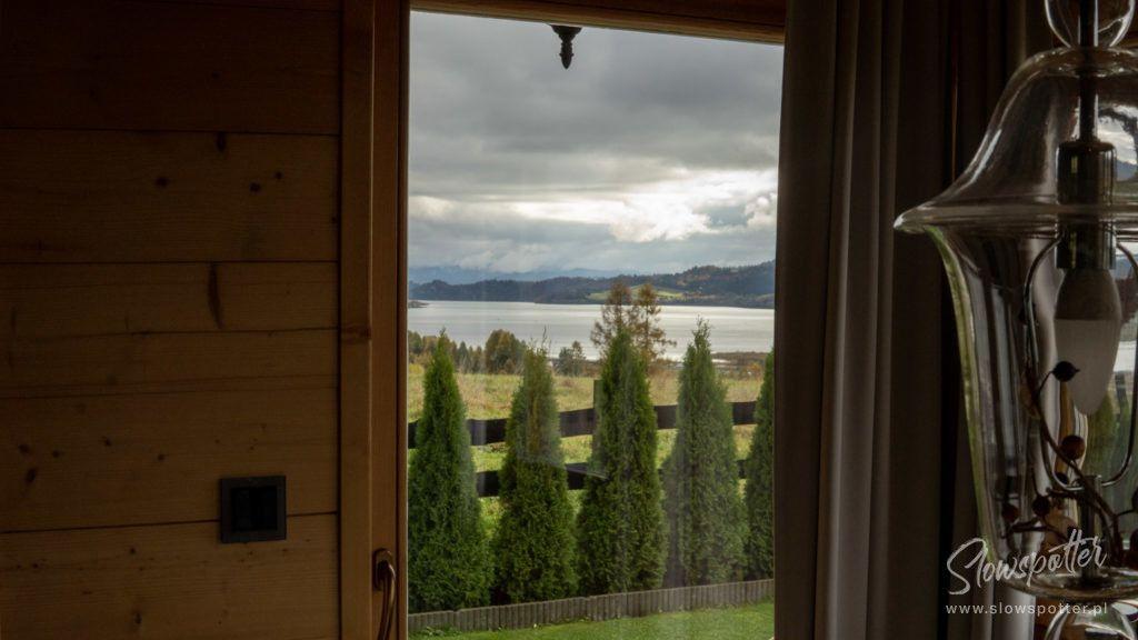 Gorski Azyl Dom W Gorach z widokiem na jezioro Czorsztyńskie
