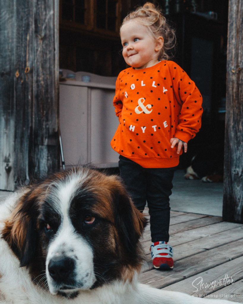 Modry Ganek Slowspotter z wizytą u gospodarzy stodoła