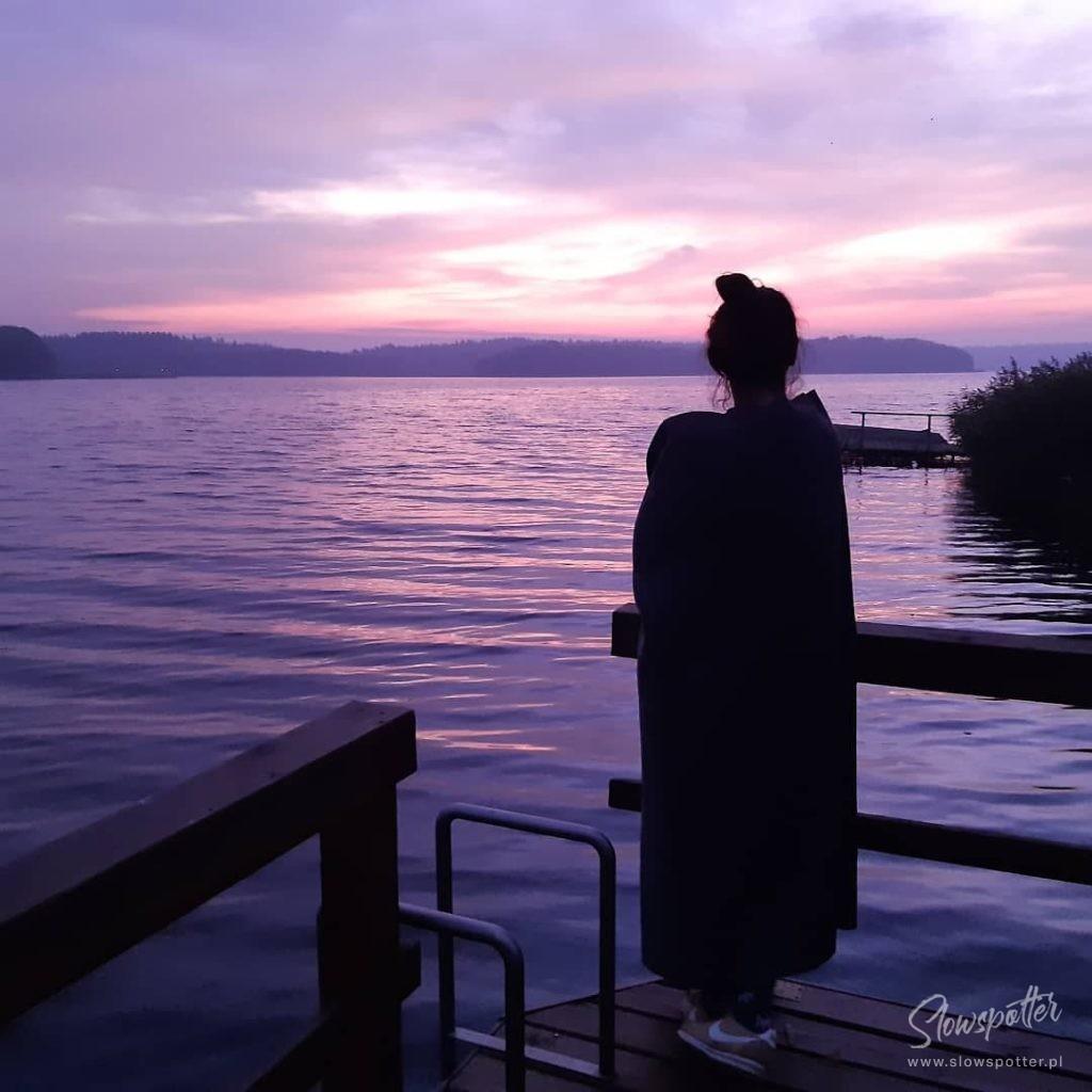 Niebo do Wynajęcia jezioro Isąg Slowspotter