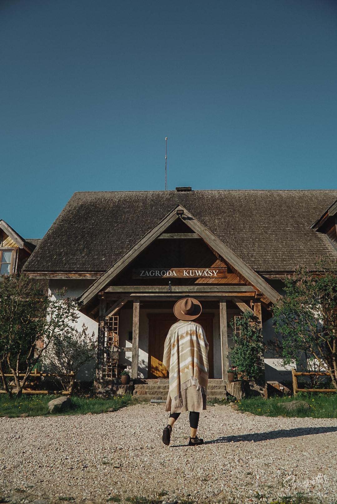Zagroda Kuwasy Podlasie Biebrzański Park Narodowy Slowspotter